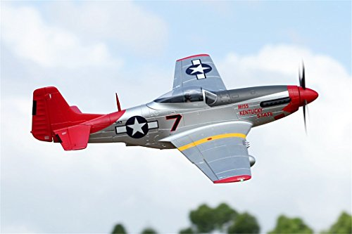 FMS P-51 Mustang Red Tail RC Airplane 6CH 1700mm (66.9