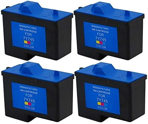 X0504/_4PK 4//PK SuppliesMAX Compatible Replacement for Dell A940//A960 Color Inkjet Series 2