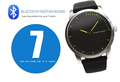 ... Bluetooth Smart watch with Camera for Apple iPhone IOS & Android Phone relogio inteligente reloj smartphone watch (Silver): Cell Phones & Accessories
