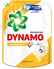 Dynamo Power Gel Laundry Detergent Refill, Anti-Bacterial
