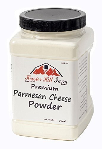 Hoosier Hill Farm Premium Parmesan Cheese Powder, 1 lb (Pack of 6) by hoosier