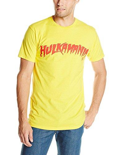 Men's WWE Hulk Hogan Hulkamania T-Shirt (XXL)