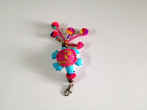 turtle-doll-keychain-color-blue