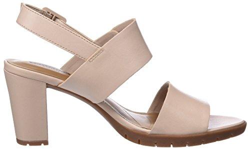 Clarks Damen Kurtley Shine Slingback Sandalen Pink (Dusty Pink)