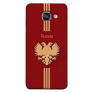 ColorKing Samsung A7 2016 Football Red Case shell cover - Fifa Russia 01