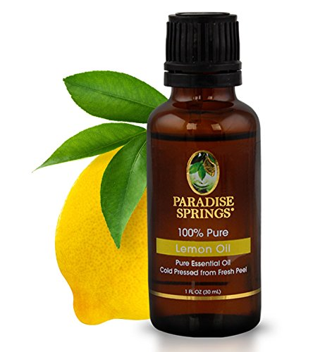 Paradise Springs Lemon Oil, 1 Ounce
