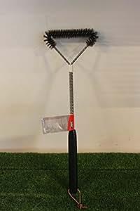 Weber - Cepillo metalico grande en t