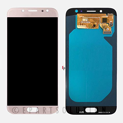 ePartSolution_ OLED LCD Display Touch Screen Digitizer Glass Assembly for Samsung Galaxy J7 Pro 2017 SM-J730 J730G J730GM J730 Replacement Part USA (Pink)