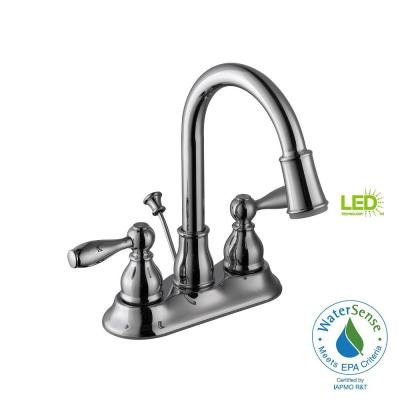Bath Faucet With Led Light in Florida - 3