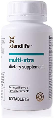 Xtend-Life Multi-Xtra Multivitamin for Women, Men, and Children, 48 Vitamins, Minerals, and Nutrients, 60 Tablets