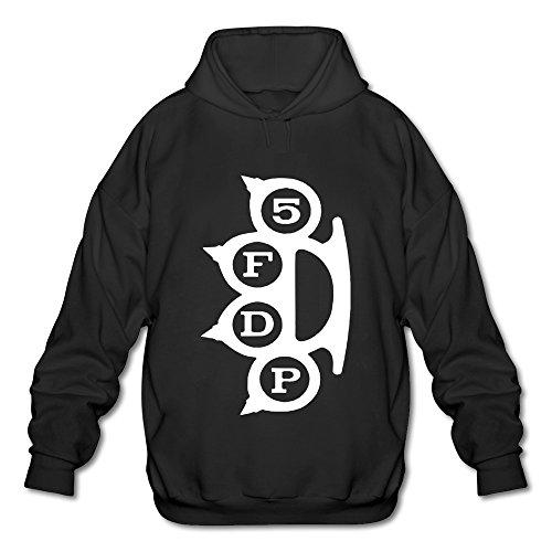 KEIKO Men's Five Finger Death Punch Hoodies XXL Black