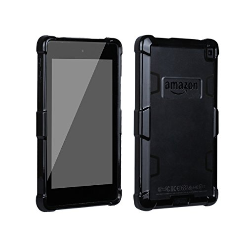 Amazon Kindle Fire HD 6 Case Defender Cover Case Phone case Phone case Heavy Duty Protection Bumper Case for Amazon Kindle Fire HD 6 (Clear) (Fire Hd6 Warranty)