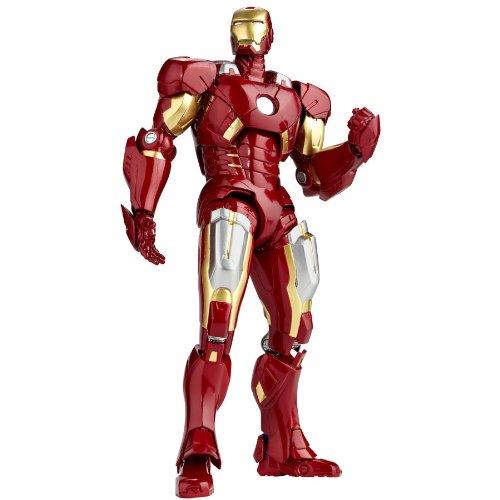 Iron Man  SCI-FI Revoltech No.041 Iron Man Mark 7 Action Figure