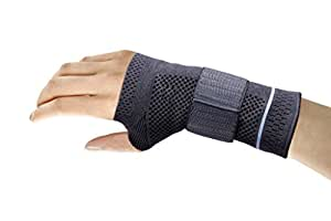 wrist brace orione size s 14 16 cm left wrist health personal care. Black Bedroom Furniture Sets. Home Design Ideas