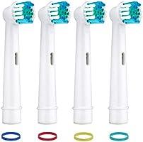 Paquete de 16 cabezales de repuesto para cepillo de dientes ...