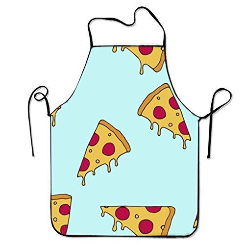 Personalized The 'Fyre Festival of Pizza Aprons Printed Apron for Gardening Server Crafting