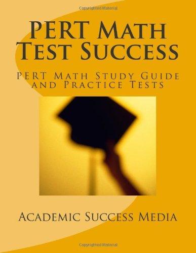 By Academic Success Media PERT Math Test Success - PERT Math Study Guide and Practice Tests: Florida PERT Postsecondary Educat pdf epub