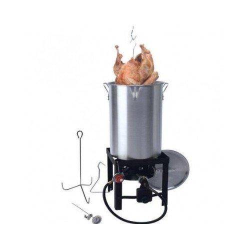 30 qt Turkey Fryer with Spout