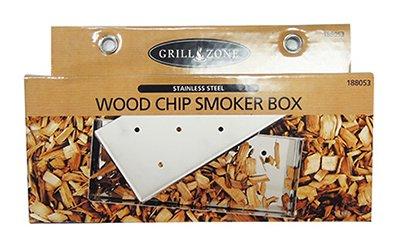 Blue Rhino 00324TV Stainless Stell BBQ Smoker Box by Worldwide Sourcing