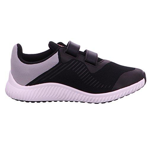 adidas FortaRun CF K - Zapatillas de deportepara niños, Negro - (NEGBAS/ENERGI/PLAMET), -6