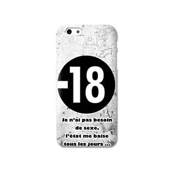 coque iphone 8 humour