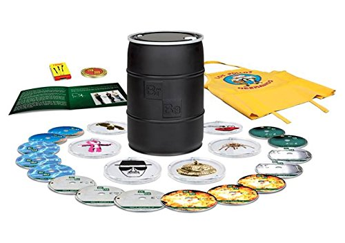 Breaking Bad: The Complete Series 2014 Barrel [Blu-ray] [Region A] by Sony