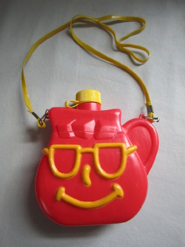 vintage-kool-aid-red-yellow-smiley-face-plastic-camping-canteen-5-x-1-3-4-x-6-1-2