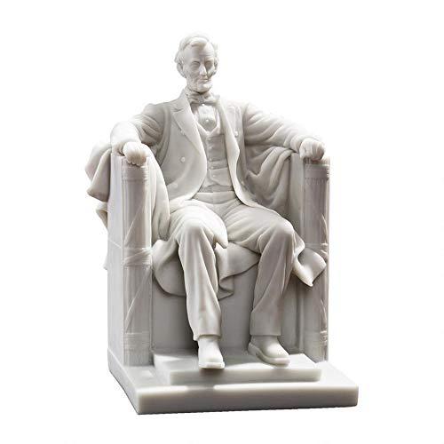 Design Toscano Abraham Lincoln Memorial Bonded Marble Resin Statue