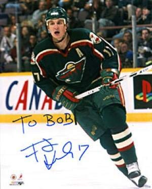 Filip Kuba Signed - Signed Filip Kuba Photo - 8x10 - Autographed NHL Photos