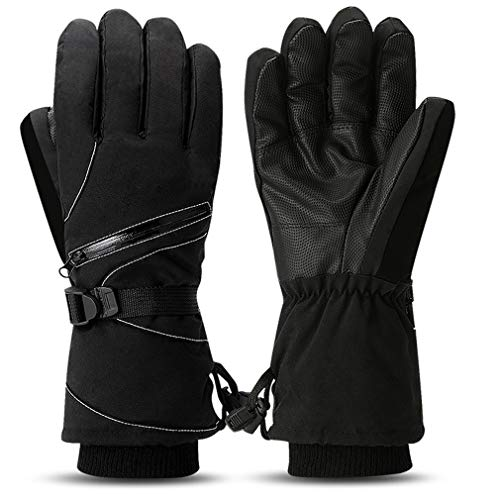 Bnoia Ski Gloves,Winter Warm Waterproof Windproof Snow Gloves for Skiing, Snowboarding, Motorcycling,Cycling, Outdoor Sports, for Women Men
