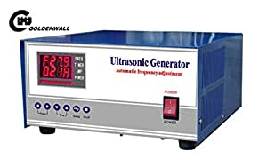 1000W Digital Ultrasonic Generator ultrasonic cleaning generator frequency and power Adjustable Double show CE and FCC certification 20khz / 25khz / 28khz / 30khz / 33khz / 40khz (30khz)