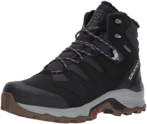 Salomon phantom black Blue Stivali Gtx Uomo Da Winter vapor Nero blu Escursionismo Quest vx7rzwv
