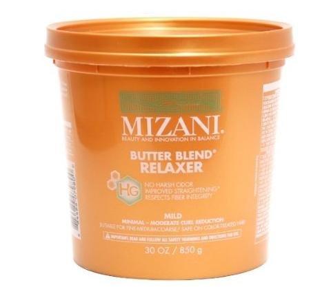 Mizani Butter Blend rhelaxer barro para cabello fino/coloré U-HC-2653