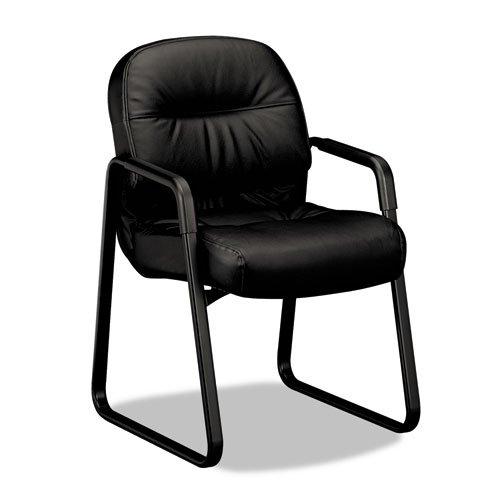 - HON2093SR69T - HON 2090 Pillow-Soft Series Leather Guest Arm Chair