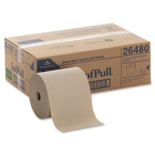 SofPull Hardwound Roll Paper Towel 26480 Case of 6