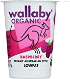 WALLABY Organic Raspberry Blended Lowfat Yogurt, 6 oz