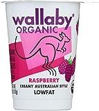 WALLABY Organic Raspberry Blended Lowfat Yogurt, 6 oz