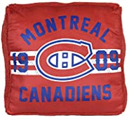 Officially Licensed NHL Jumbo Floor Pillow, Montreal Canadiens, 22x22 in