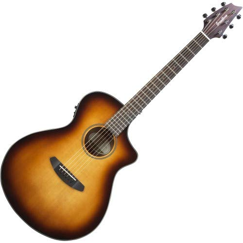 (Breedlove Discovery Concert CE Sitka-Mahogany Acoustic-Electric Guitar, Sunburst)