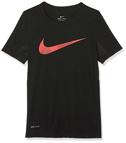 Legend Black Shirt Swoosh Dry Boys' T Nike qxYvBE6n