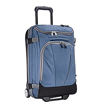 """eBags TLS Mother Lode Mini 21"""" Wheeled Carry-On Duffel (Blue Yonder)"""