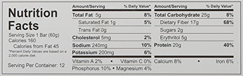 Quest Nutrition Protein Bar, Chocolate Peanut Butter, 2.12 Ounce, 12 Count