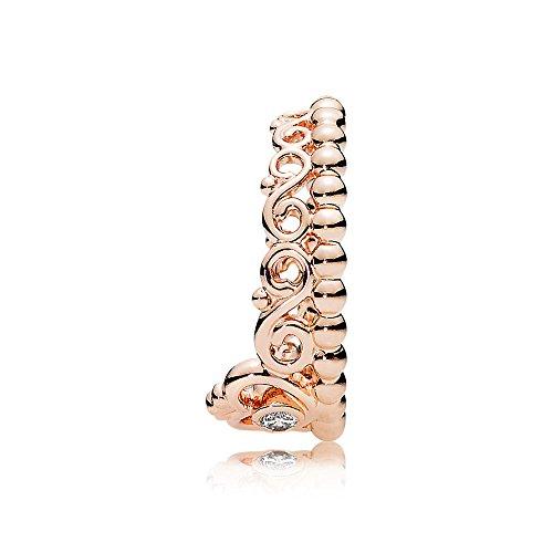 Pandora My Princess Tiara Ring Pandora Rose Clear Cz 7