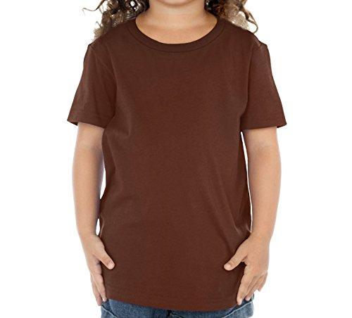 Angel Toddler T-shirt (Kavio! Toddlers Crew Neck Short Sleeve Tee (Same TJP0494) Brown 5T)