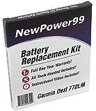NewPower99 Battery Replacement Kit for Garmin