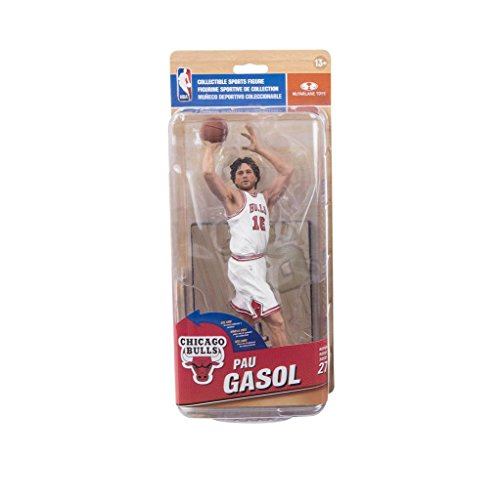 NBA Chiacgo Bulls Pau Gasol Action Figure All Star Collector Level by McFarlane