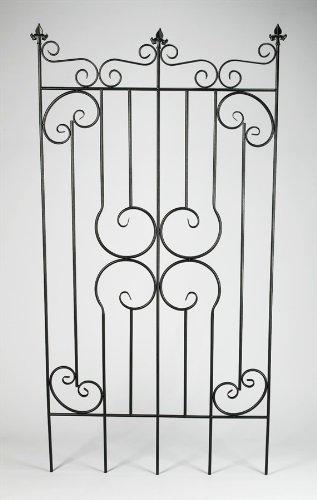 Amazon com : AA Importing Decorative Metal Garden Fence Gate