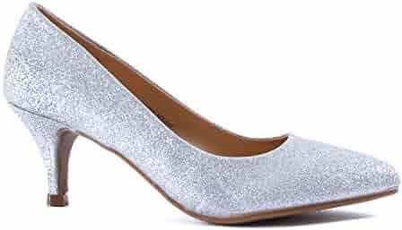8592dd86c23b9 Shopping Under $25 - Silver - Pumps - Shoes - Women - Clothing ...