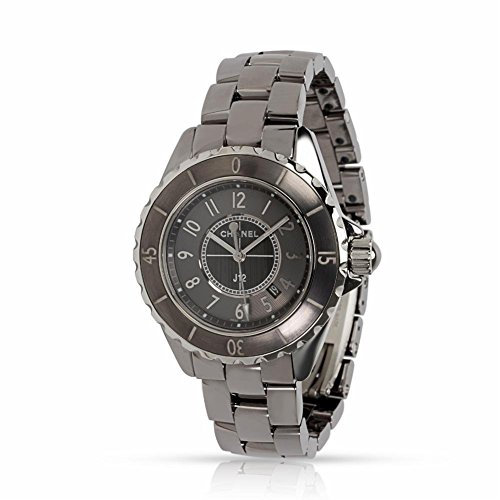 Chanel J12 H2978 Women's Watch in Titanium (Certified Pre-Owned)