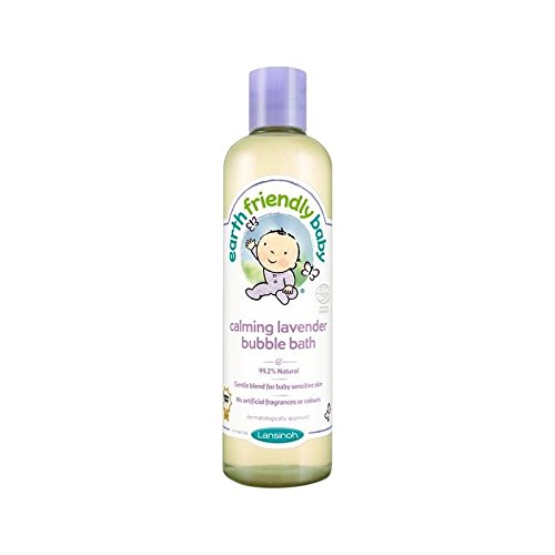 Earth Friendly Baby Calming Lavender Bubble Bath ECOCERT 300ml - Pack of 6